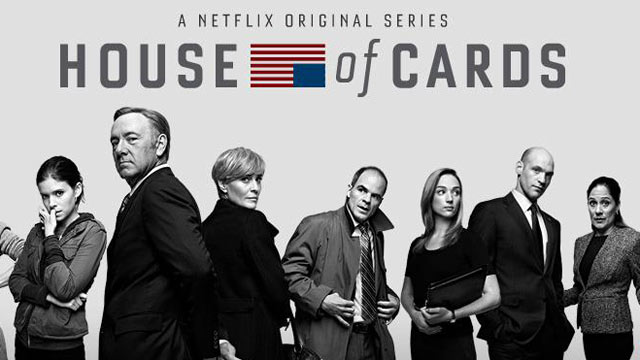 PHOTO: House of Cards is an original series presented by network Netflix.