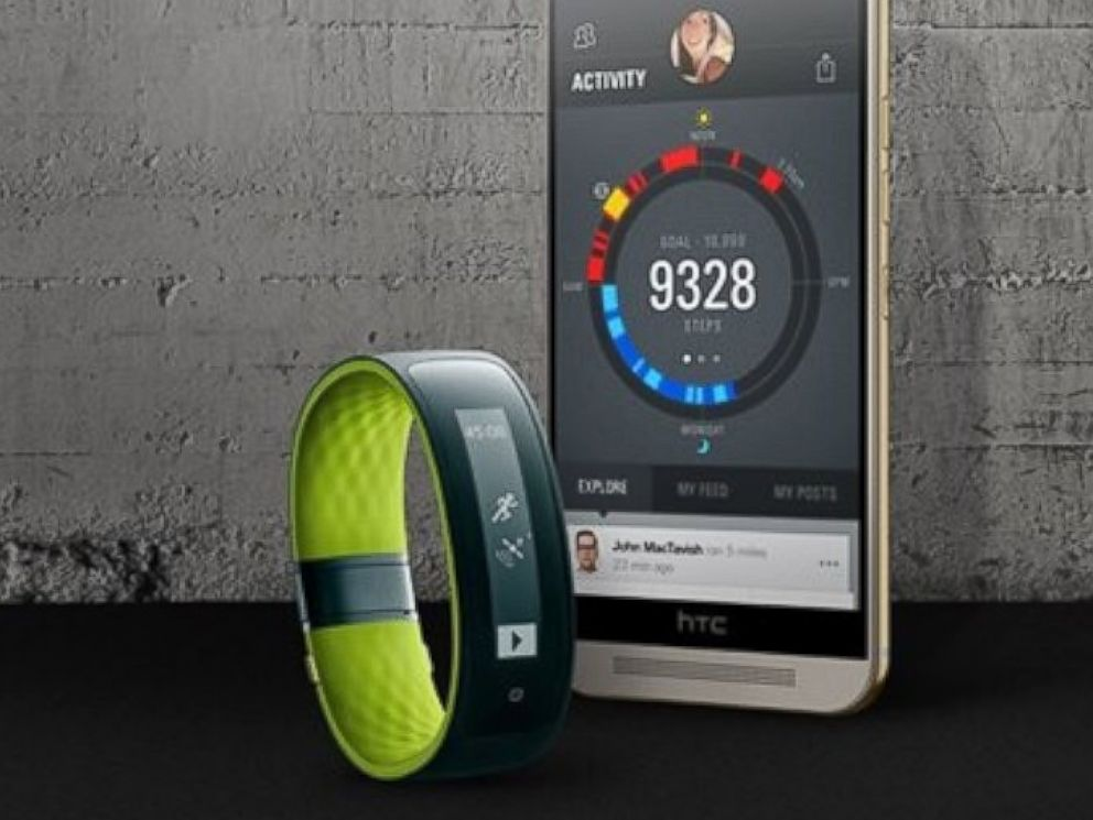 PHOTO: HTC announced the Grip, a fitness tracker that allows users control their Android or iOS smartphones.