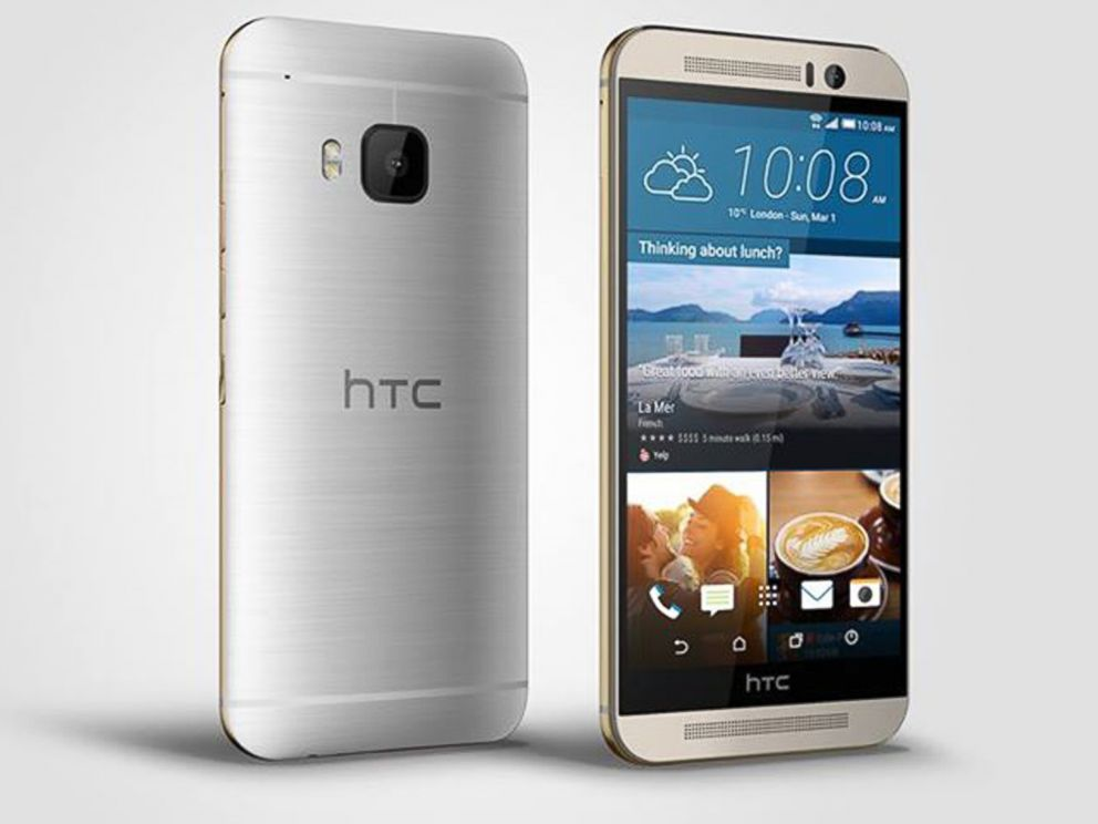 PHOTO: HTC announced the release of their new One M9 smartphone with a 20-megapixel camera.
