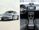 PHOTO: The Volkswagen iBeetle has an iPhone docking station and a special iPhone application.