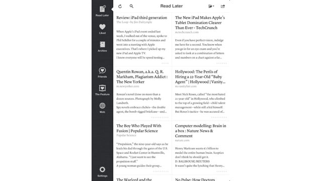 PHOTO: Instapaper lets you save articles on the web and read them later on your iPad or iPhone.