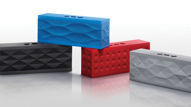 PHOTO: The Jambox, by Jawbone, is a set of wireless speakers encased in a durable, stylish case.
