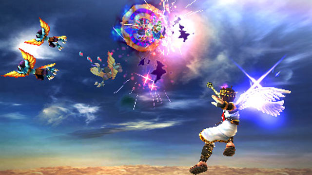 PHOTO: Scene from the new Nintendo 3DS game, Kid Icarus Uprising.