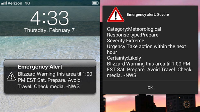 how to get weather alerts on iphone blizzard wireless emergency alerts why only some 20122