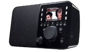 PHOTO The Logitech Squeezebox Radio is shown.