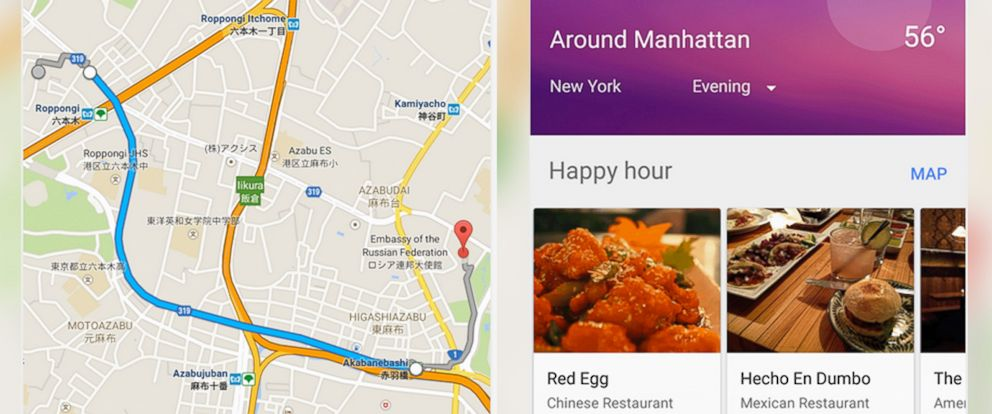 Google Maps Features to Ease Thanksgiving Travel - ABC News