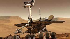 PHOTO:NASA Mars rovers Spirit and Opportunity have been exploring regions on opposite sides of Mars since January 2004.