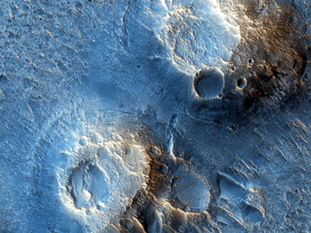 PHOTO: Images taken by the Mars Reconnaissance Orbiter show where the fictional astronaut in The Martian would have been stranded.