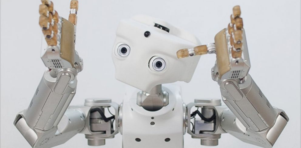 PHOTO: Meka, a company that makes humanoid robots, was acquired by Google.