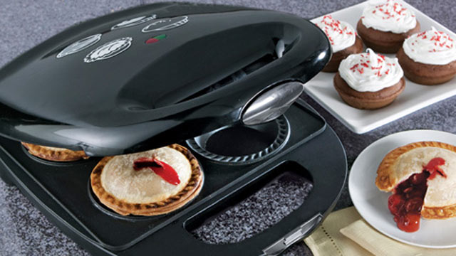 PHOTO: At first glance, it may seem like an appliance built specifically for cupcake-making is a bit decadent, but the Mini Pie and Cupcake Maker is actually very versatile.