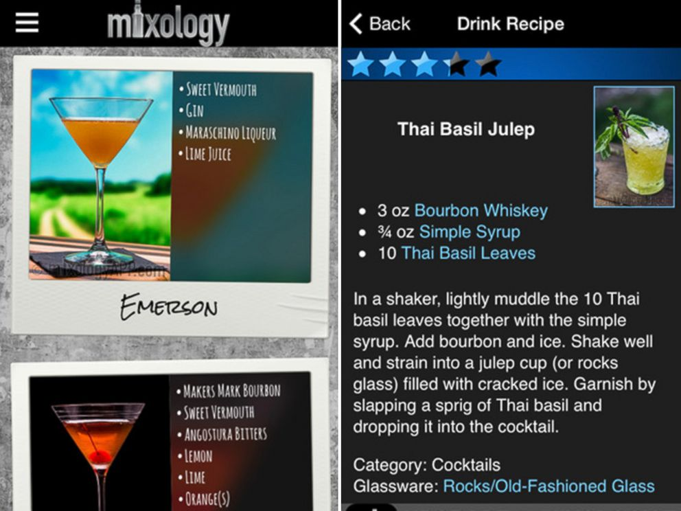 PHOTO: Mixology - Your cheat sheet to creating an amazing drink