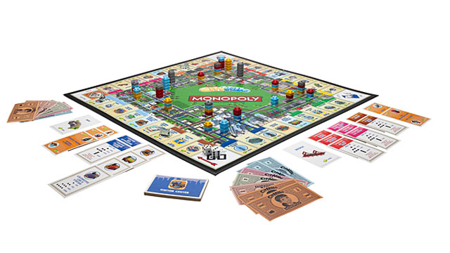 PHOTO: Hasbro and Zynga have teamed up to create the Cityville Monopoly board game.