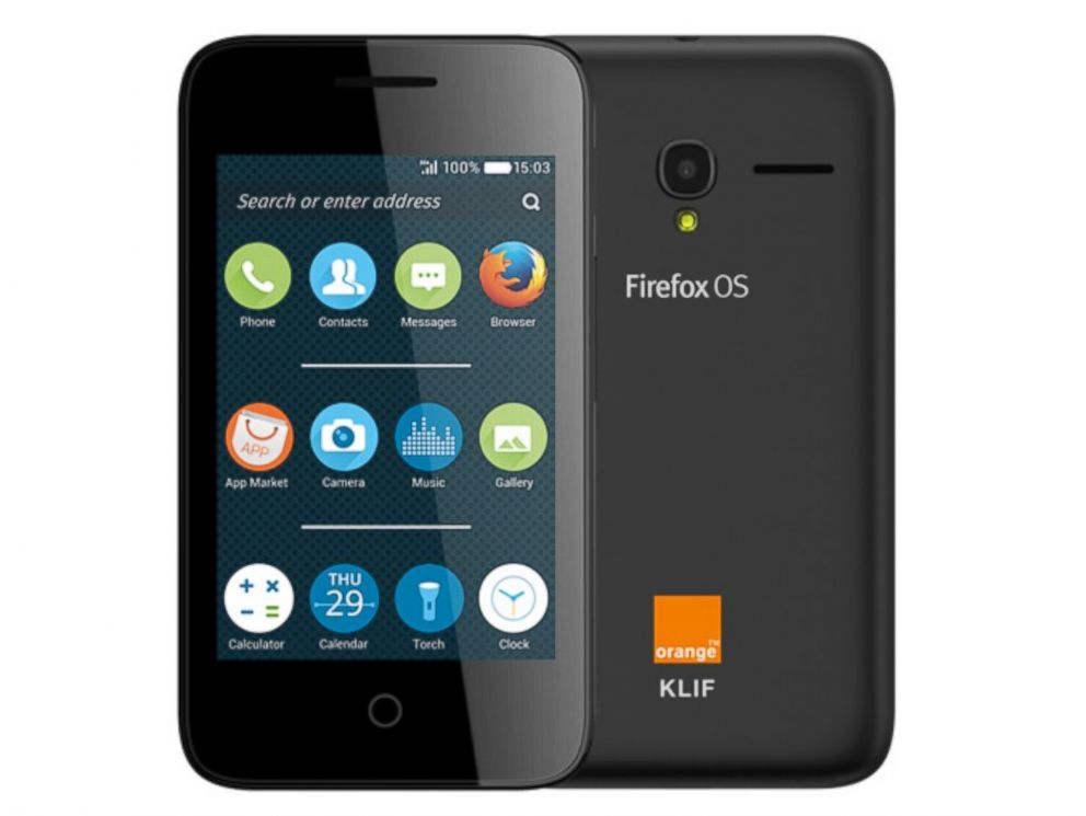 PHOTO: Mozilla has announced that their Firefox OS will be added to a range of phones in 2016, including flip phones and sliders.