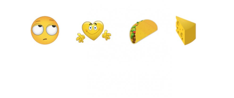 PHOTO: The Unicode Consortium announced the release of 37 new emojis this week, including the long awaited taco and cheese wedge emojis.