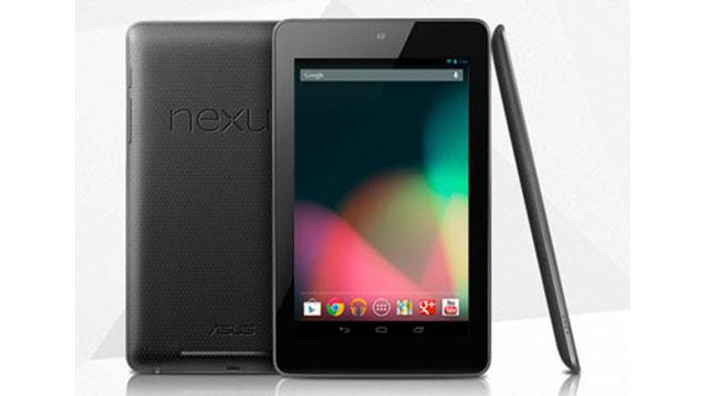 PHOTO: Google Nexus 7 Tablet