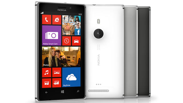 PHOTO: Nokias Lumia 925 Windows Phone is made of metal and has an 8.7-megapixel camera.
