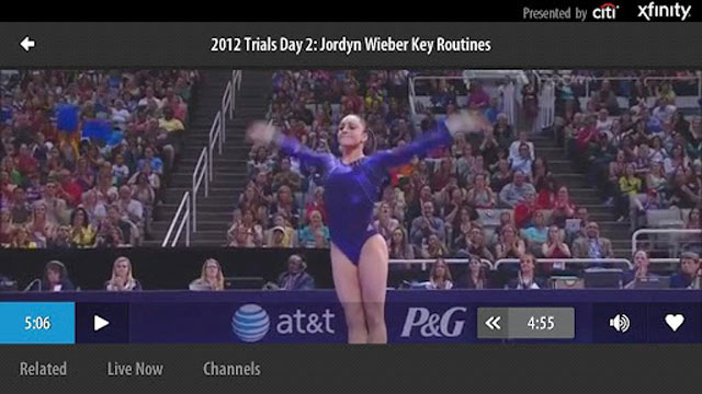 PHOTO: The NBC Olympics Live Extra app plays live video of the Games.