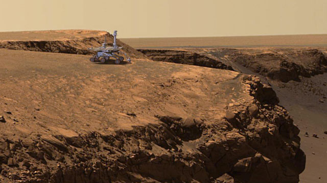 mars rover first photo - photo #3