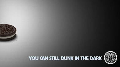PHOTO: Oreo immediately responded to the 2013 Super Bowl blackout with this photo on its Twitter account.