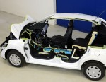 PHOTO: PSA Peugeot Citroen is developing a hybrid car combining gasoline internal combustion engine and compressed air storage.
