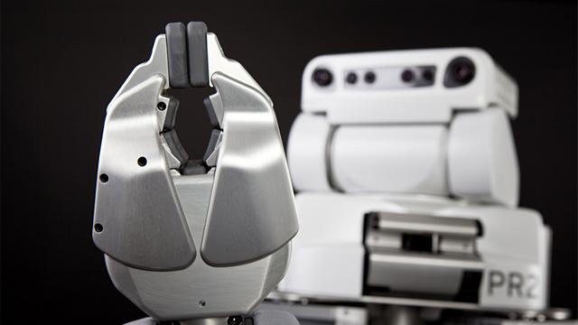 PHOTO:PR2 personal robot