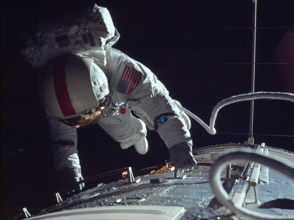 PHOTO: The Project Apollo Archive released thousands of images made by NASA astronauts during several missions to the moon in their original unprocessed condition.