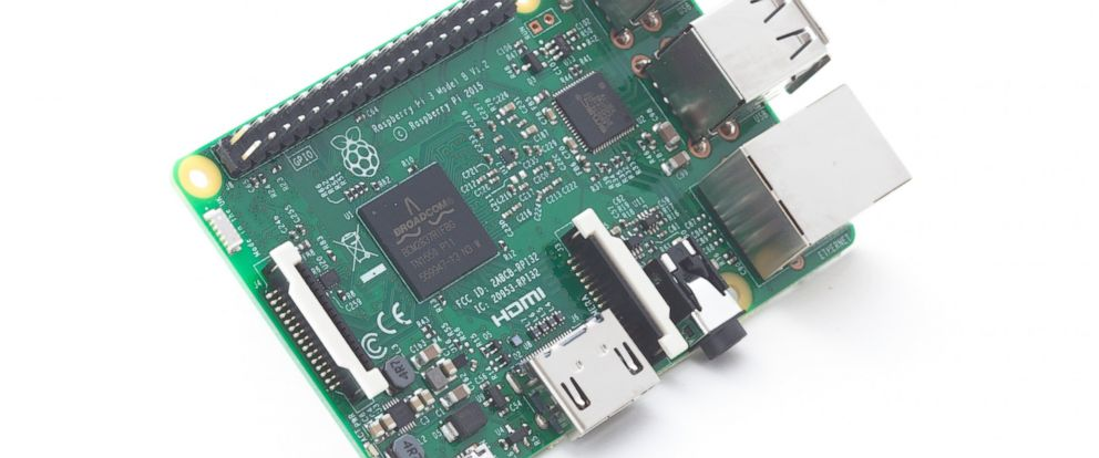 PHOTO: The Raspberry Pi 3 Model B is pictured in an undated photo from the official Raspberry Pi Foundation website.