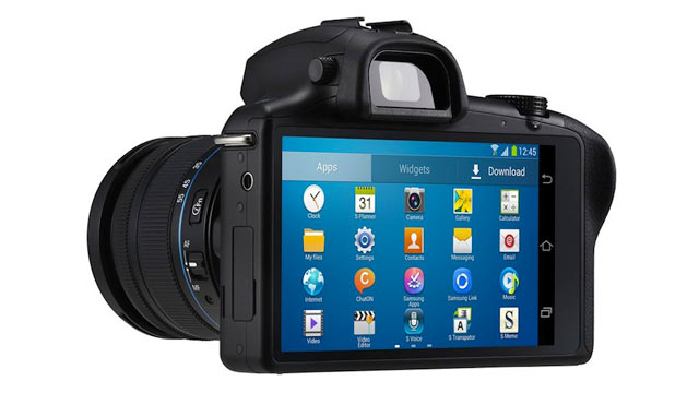 PHOTO: he Galaxy NX Camera incorporates Android with photography.