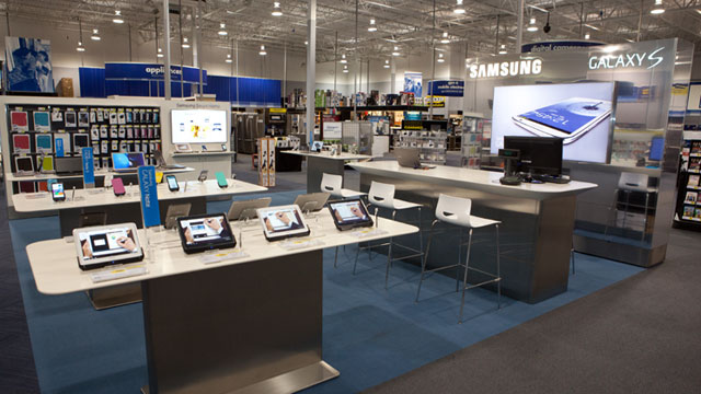 PHOTO: The Samsung Experience Shop™ will be installed in more than 1,400 Best Buy and Best Buy Mobile specialty stores across the U.S.