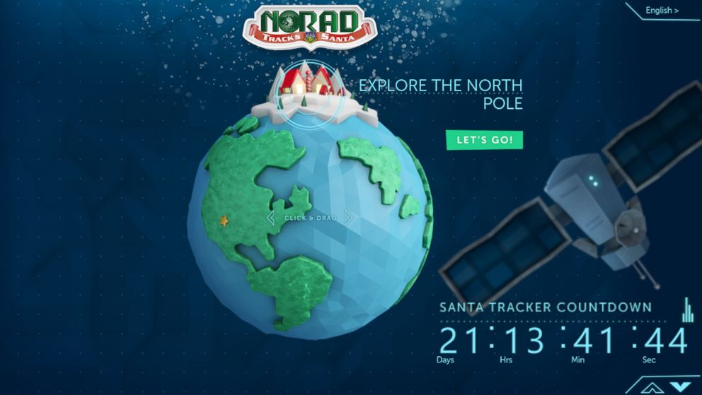 With Help from Microsoft, NORAD Launches Improved Santa ...