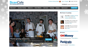 PHOTO A screen grab from the website www.scancafe.com is shown.