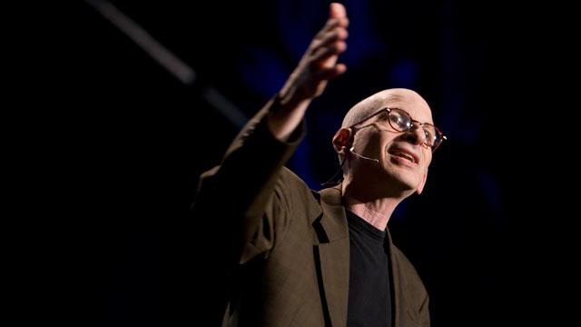 PHOTO:Seth Godin speaks at TED2009.