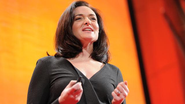 PHOTO:Sheryl Sandberg speaks at TEDWomen, 2011.