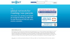 Skout login with facebook