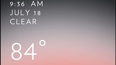 PHOTO: Solar is a visually appealing weather app for the iPhone.