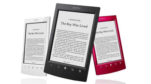 PHOTO: Sony PRS T2 E-Reader