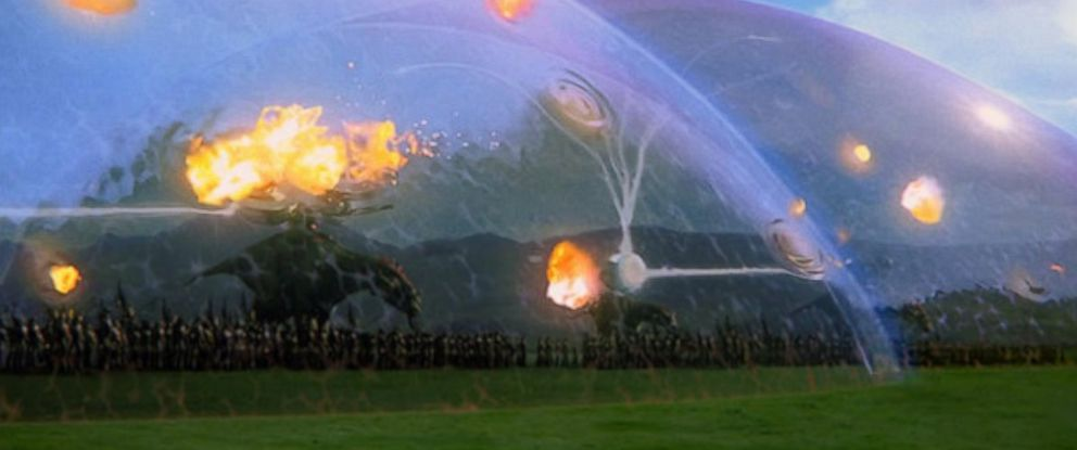 """PHOTO: Pictured is a still of the Battle of Naboo from """"Star Wars Episode I: The Phantom Menace."""""""