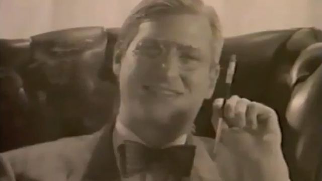 PHOTO: Steve Jobs appeared as FDR in an Apple marketing video in 1984.