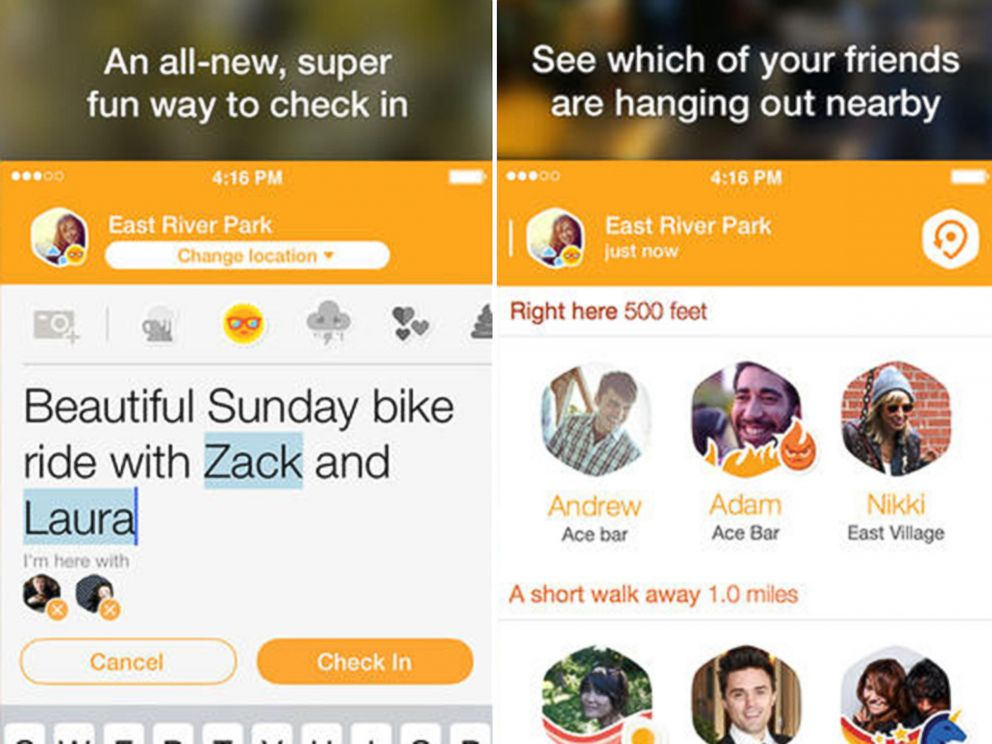PHOTO: Swarm -- Impromptu outings with friends made easy