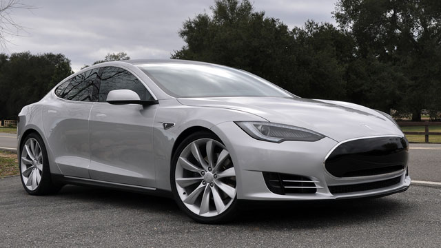 PHOTO:Telsa Model S Sedan is seen in this undated file photo.