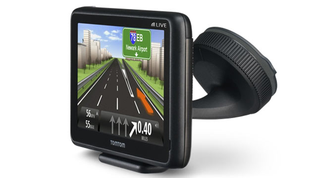 PHOTO: The TomTom GO LIVE 2535 M GPS system steers one around traffic, has voice recognition.