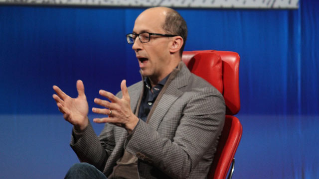 PHOTO: Twitter CEO Dick Costolo speaks at the 2013 All Things D conference.