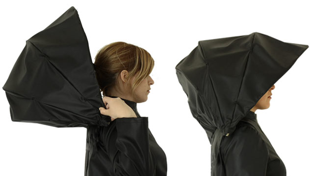 Image result for rain jacket and umbrella