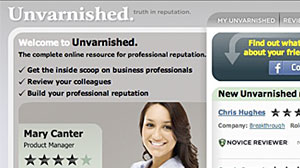 Photo: People Ratings Site ?Unvarnished? Unleashes Controversy