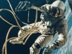 PHOTO: James McDivitt photographed the first U.S. spacewalk, with Ed White performing an EVA over New Mexico during the Gemini 4 mission on June 3, 1965.
