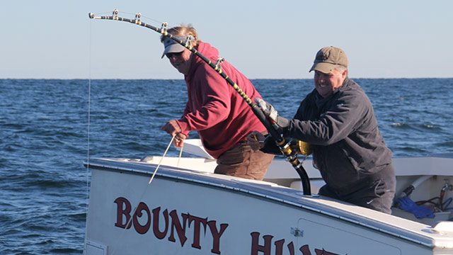 PHOTO: Capt. Bill Monte and First Mate Scott Ferriero