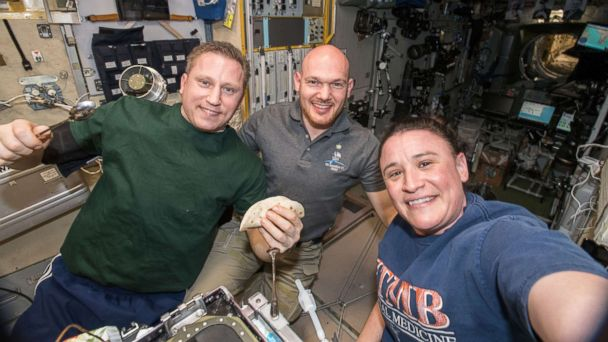 Astronauts to celebrate Thanksgiving on the International Space Station