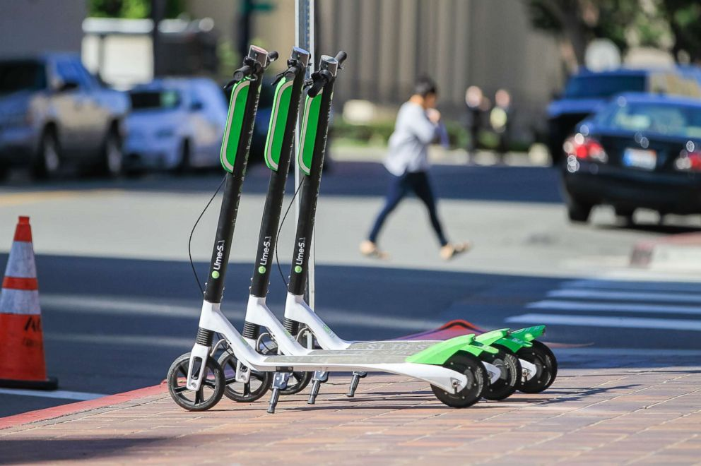 Lyft launches a scooter service