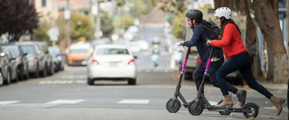 Lyft Enters The Scooter Race By Launching In Denver Abc News