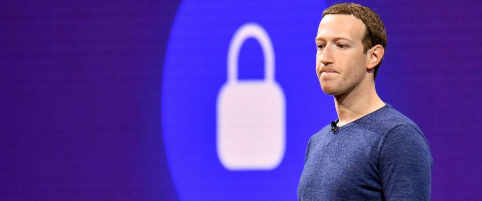 PHOTO: Facebook CEO Mark Zuckerberg speaks during the annual F8 summit at the San Jose McEnery Convention Center in San Jose, Calif., May 1, 2018.